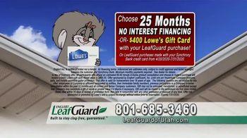 LeafGuard of Utah $99 Install Sale TV Spot, 'Debris Damage' - Thumbnail 6