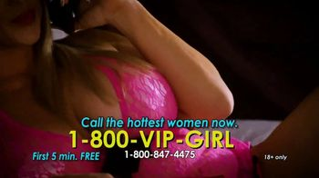 1-800-VIP-GIRL TV Spot, 'Join Us: First Five Minutes Free'