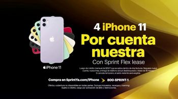 Sprint Unlimited TV Spot, 'Cuatro Apple iPhone 11: cobertura expandida' [Spanish] - Thumbnail 4