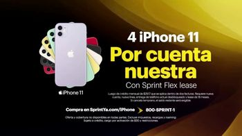 Sprint Unlimited TV Spot, 'Cuatro Apple iPhone 11: cobertura expandida' [Spanish] - Thumbnail 5