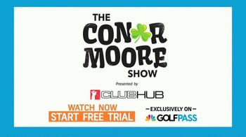 GolfPass TV Spot, 'The Conor Moore Show' - Thumbnail 9