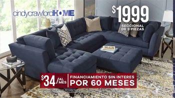 Rooms to Go Venta de Memorial Day TV Spot, 'Cindy Crawford Home: seccional' [Spanish] - Thumbnail 5