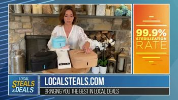 Local Steals & Deals TV Spot, '4id Sterilizer' Featuring Lisa Robertson - 5 commercial airings