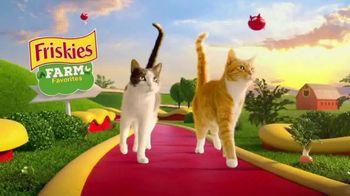 Friskies Farm Favorites TV Spot, 'Real Farm-Raised Chicken'