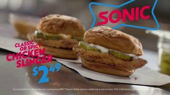 Sonic Drive-In Chicken Slinger TV Spot, 'No Brainer' - Thumbnail 9