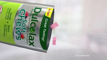 Dulcolax Soft Chews TV Spot, 'Gentle and Fast Relief'