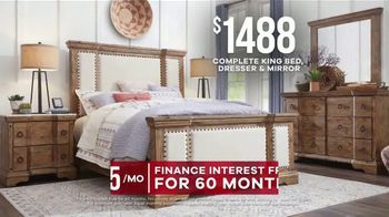 Rooms to Go Memorial Day Sale TV Spot, 'Rustic Bedroom Set' - Thumbnail 6