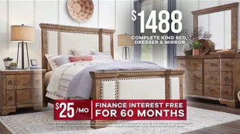 Rooms to Go Memorial Day Sale TV Spot, 'Rustic Bedroom Set' - Thumbnail 7