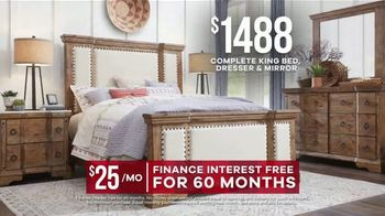 Rooms to Go Memorial Day Sale TV Spot, 'Rustic Bedroom Set' - Thumbnail 8