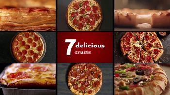 DiGiorno TV Spot, 'Seven Delicious Crusts'