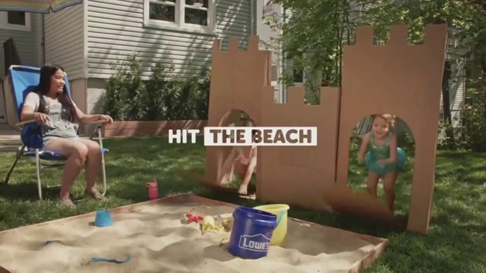 Lowe's TV Commercial, 'Summer Is Open'