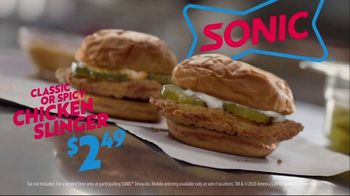 Sonic Drive-In Chicken Slinger TV Spot, 'Heaven' - Thumbnail 9
