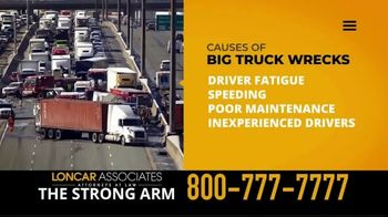 Loncar & Associates TV Spot, 'Big Truck Wrecks' - Thumbnail 2