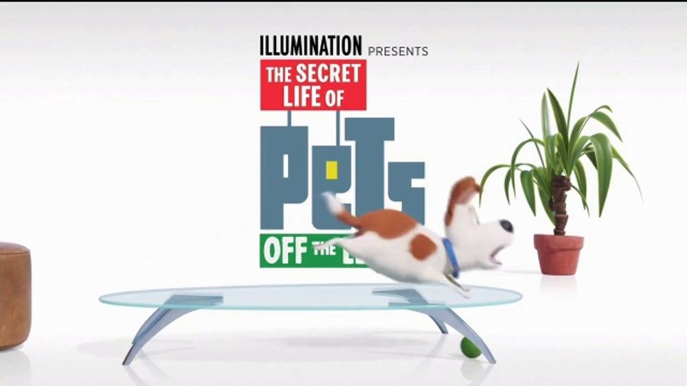 Universal Studios Hollywood TV Commercial, 'The Secret Life of Pets: Off the Leash - Ride Coming Soo