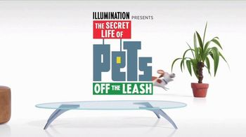 Universal Studios Hollywood TV Spot, 'The Secret Life of Pets: Off the Leash - Ride Coming Soon'