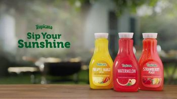 Tropicana Watermelon TV Spot, 'Sips of Sunshine' - Thumbnail 9