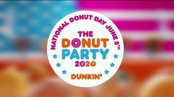 Dunkin' TV Spot, 'The Donut Party 2020 Debate' - Thumbnail 1