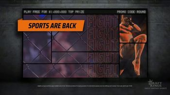 DraftKings TV Spot, 'Biggest UFC Contest Ever' - 241 commercial airings