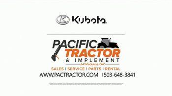 Kubota LX Series TV Spot, 'Comfort and Versatility' - Thumbnail 6