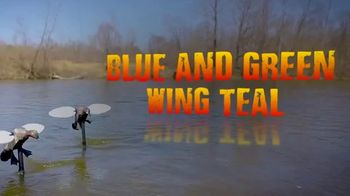 Mojo Outdoors Elite Series Blue and Green Wing Teal TV Spot, 'Remote Ready' - Thumbnail 2