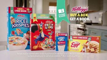Kellogg's TV Spot, 'Kellogg's Feeding Reading Program'
