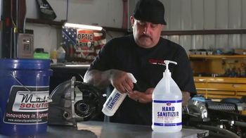 VP Racing Fuels Hand Sanitizer TV Spot, 'Get Back to Work' - Thumbnail 6