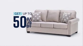 Ashley HomeStore Grand Reopening TV Spot, 'Up to 50 Percent Off or Zero Interest' - Thumbnail 4