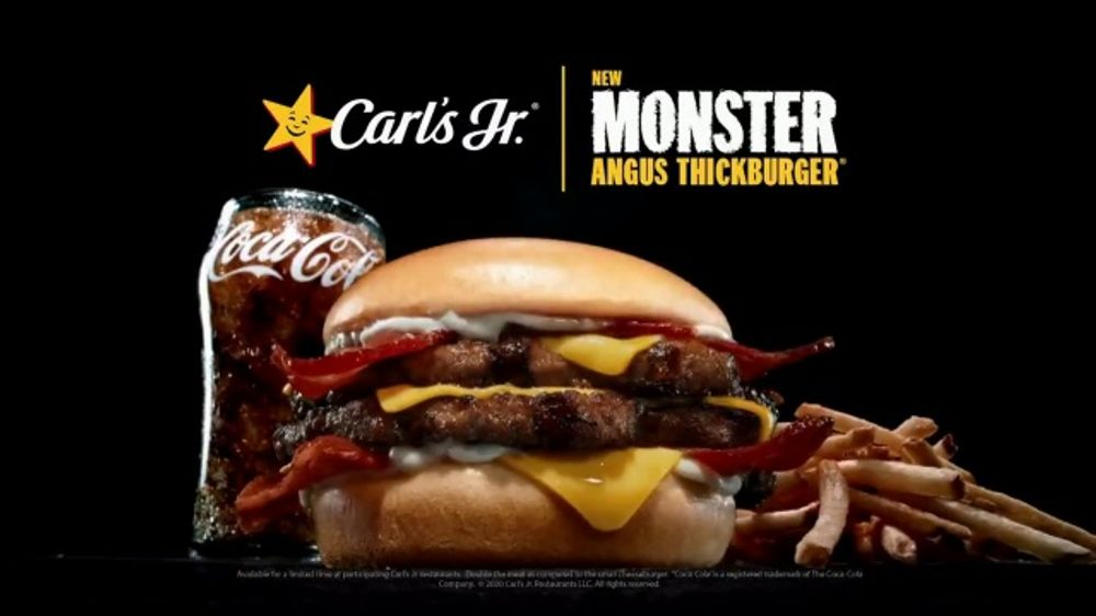 Carls Jr. Mile High Bacon Thickburger TV Commercial