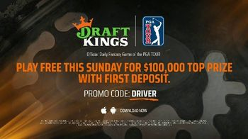 DraftKings TV Spot, 'PGA: Fairway Frenzy' - Thumbnail 10