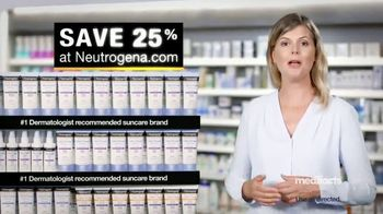 Neutrogena Ultra Sheer TV Spot, 'Medifacts: Skin Aging' - Thumbnail 9