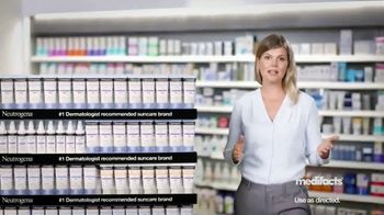 Neutrogena Ultra Sheer TV Spot, 'Medifacts: Skin Aging' - Thumbnail 1