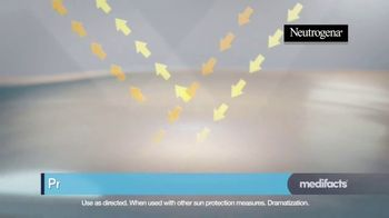 Neutrogena Ultra Sheer TV Spot, 'Medifacts: Skin Aging' - Thumbnail 6