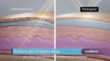 Neutrogena Ultra Sheer TV Spot, 'Medifacts: Skin Aging' - Thumbnail 7
