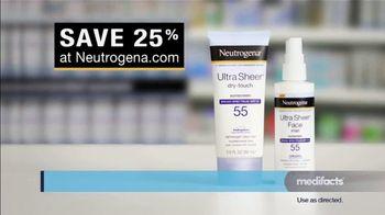 Neutrogena Ultra Sheer TV Spot, 'Medifacts: Skin Aging' - Thumbnail 8