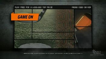 DraftKings TV Spot, 'Fairway Frenzy: Play Free for $1,000,000'