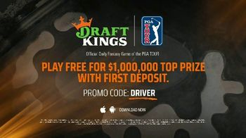 DraftKings TV Spot, 'Fairway Frenzy: Play Free for $1,000,000' - Thumbnail 10
