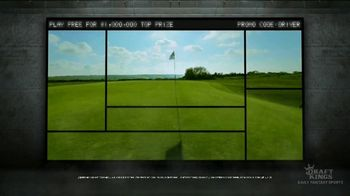DraftKings TV Spot, 'Fairway Frenzy: Play Free for $1,000,000' - Thumbnail 2