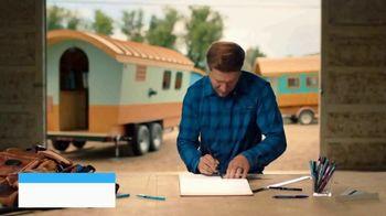 Pilot Precise Pens TV Spot, 'A&E: Driven By Precision' Featuring Zack Giffin - Thumbnail 1