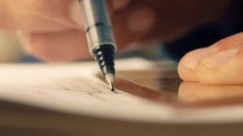 Pilot Precise Pens TV Spot, 'A&E: Driven By Precision' Featuring Zack Giffin - Thumbnail 2