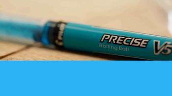 Pilot Precise Pens TV Spot, 'A&E: Driven By Precision' Featuring Zack Giffin - Thumbnail 5
