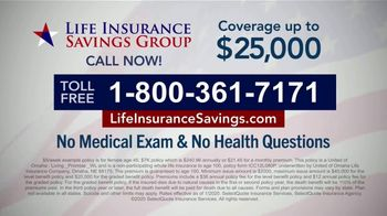 Life Insurance Savings Group TV Spot, 'Acceptance Is Guaranteed' Featuring Mike Ditka - Thumbnail 8