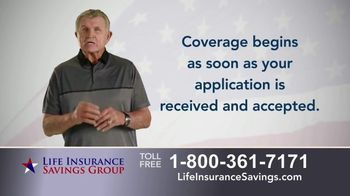 Life Insurance Savings Group TV Spot, 'Acceptance Is Guaranteed' Featuring Mike Ditka - Thumbnail 4