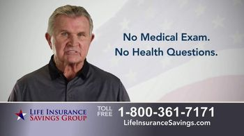 Life Insurance Savings Group TV Spot, 'Acceptance Is Guaranteed' Featuring Mike Ditka - Thumbnail 7
