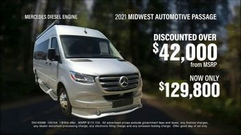 La Mesa RV TV Spot, 'Think: 2021 Mercedes Midwest Automotive Passage'