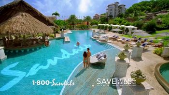 Sandals Resorts TV Spot, 'Don't Worry About a Thing' Song by Bob Marley - Thumbnail 3