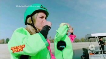 Quibi TV Spot, 'Life Size Toys'