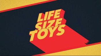 Quibi TV Spot, 'Life Size Toys' - Thumbnail 8