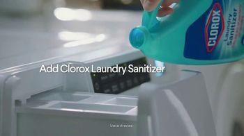 Clorox Fabric Sanitizer TV Spot, 'Kills Bacteria Detergent Leaves Behind' - Thumbnail 3