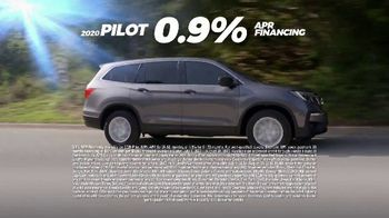 Honda Summer Clearance Event TV Spot, 'Rugged: 2020 Pilot and HR-V' [T2] - Thumbnail 5