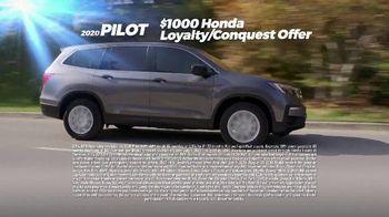 Honda Summer Clearance Event TV Spot, 'Rugged: 2020 Pilot and HR-V' [T2] - Thumbnail 6